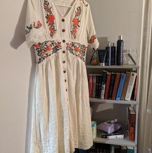 Roolee Dresses - Ithaca Embroidered Dress (Roolee)